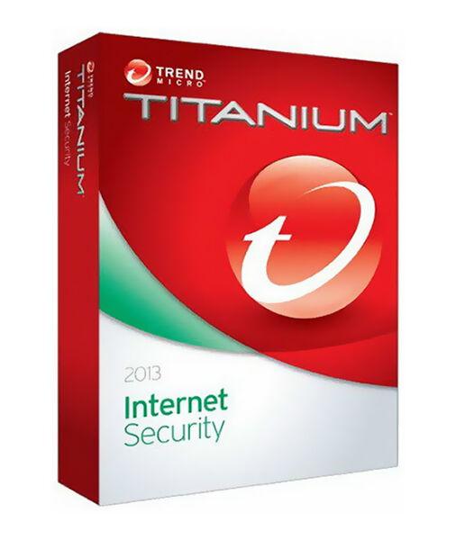 TREND MICRO Titanium Antivirus 2013