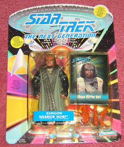 Klingon Warrior Worf action figure NEW in package