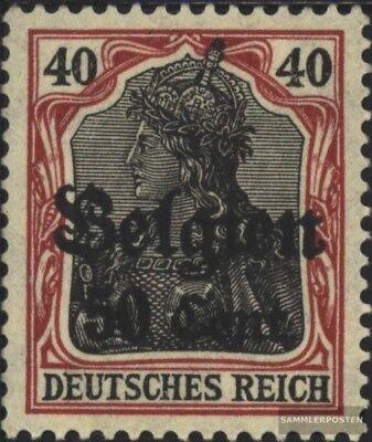 Dt. Landespost in Belgien 20b II geprüft gestempelt 1916 Germania