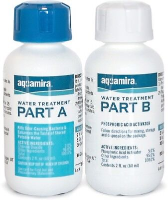 Aquamira 67203 Water Treatment & Purification Kit For 60G Of Water