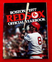 Boston Red Sox Official Yearbooks 1977 1978 1979