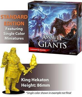 D&D Boardgame Assault of the Giants Standard Edition