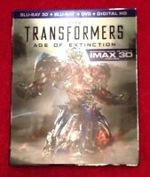 Transformers age of extinction blu ray 3d DVD digital hd