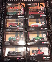 Corgi DieCast Texaco showcase display series #1 1:43 scale