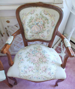 Set of 2 Victorian style chairs West Island Greater Montréal image 2