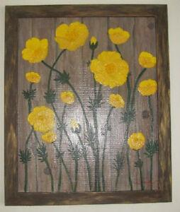 Lovely Painting~Yellow flowers on Canvas plus Gatineau Ottawa / Gatineau Area image 4