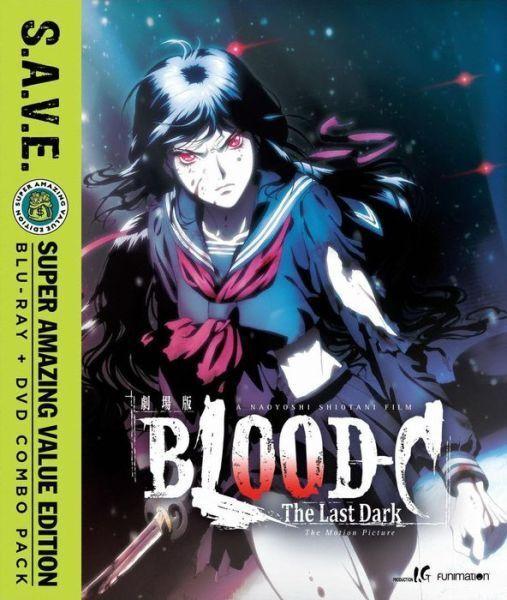 PRE RELEASE: BLOOD-C THE LAST DARK MOVIE S.A.V.E. - BLU RAY - Region A - Sealed
