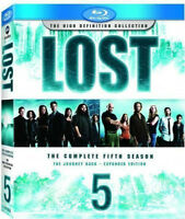 LOST season 1 & 5 - PERDUS saison 1 & 5 (DVD & Blu-ray)