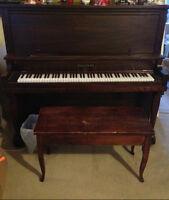 Upright Antique Piano