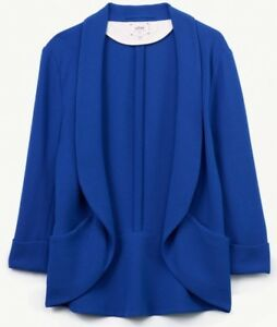 Wilfred Chevalier Jacket/Blazer (Blue, 00) - Great Condition