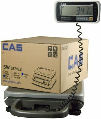 Cas Pb-300 Digital Platform And Bench Scale 300 Lbs Capacity W Dual Range
