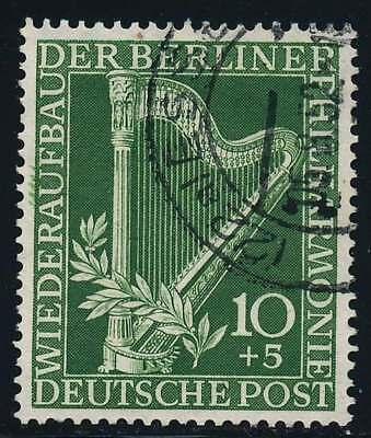 Berlin Nr. 72 gestempelt, 10 Pf. Philharmonie (37286)