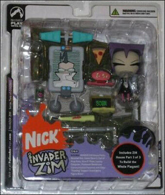 Invader Zim Series 2 Gaz Figure Sealed Palisades Toys