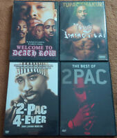 2Pac: Various DVD $5 Each