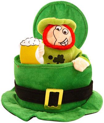Pop-Up Kobold Irisch Irland st Patricks Day Kostüm Party Hut H09 - Irischer Hut Kostüm