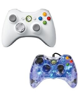 XBOX 360 Controllers (Wired and Wireless)