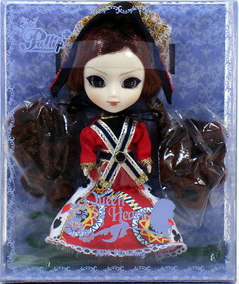 "Jun Planning Groove F-842 LITTLE PULLIP QUEEN OF HEARTS Doll 4.5"" NIP mini"