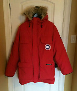 AUTHENTIC CANADA GOOSE MEN'S XL EXPEDITION PARKA (RED)