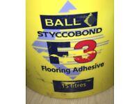 Flooring Adhesive 2x 15 ltr