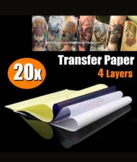 Tattoo Spirit Transfer Paper A4 Sheets 20pk