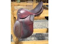 Two Leather Saddles