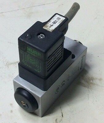 Festo Pneumatic PEV-1/4-B-OD Pressure Switch, 24 VDC, Used, Warranty
