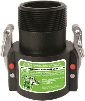 Green Leaf GLP 200 B Female Cam Lever Locking Hose Coupling, Polypropylene, -