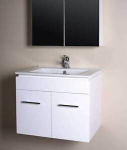 FACTORY CLEARANCE!! Budget 60CM (600 mm) White Vanity Mulgrave Monash Area Preview