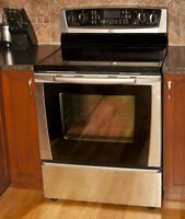 Whirlpool Stainless Steel Electric Range with Self-Cleaning Oven
