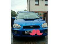 Subaru impreza wrx turbo blobeye