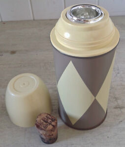 Antiquité. Collection. Bouteille isotherme. THERMOS Canada