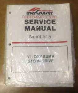 MERCRUSIER NUMBER 5 SHOP MANUAL
