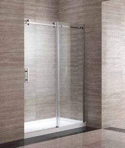 """Douches entre 3 murs 60"""" x 32"""" / Shower between 3 walls"""