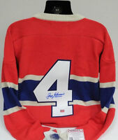 Jean Beliveau Montreal Canadiens Jersey - Signed with COA