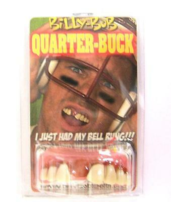 FAKE QUARTER BUCK TEETH #990 large bucked tooth costume prop new funny weird new