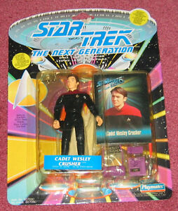 Star Trek: The Next Generation - Cadet Wesley Crusher figure