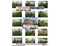 Indoor cricket netting facility in Ashton Tameside Manchester