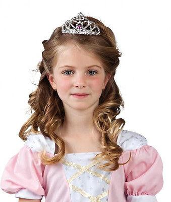 Kinder Diadem Prinzessin Zoe Kammkrone Krone Edelsteine Fasching Kostüm 167053bv