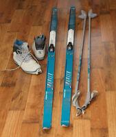 Ensemble de ski de fond PeltonenAltura 190cm  botte 40