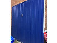 Wooden garage door/gate