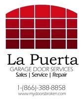 Réparation de portes de garage. Need help call us we do it all