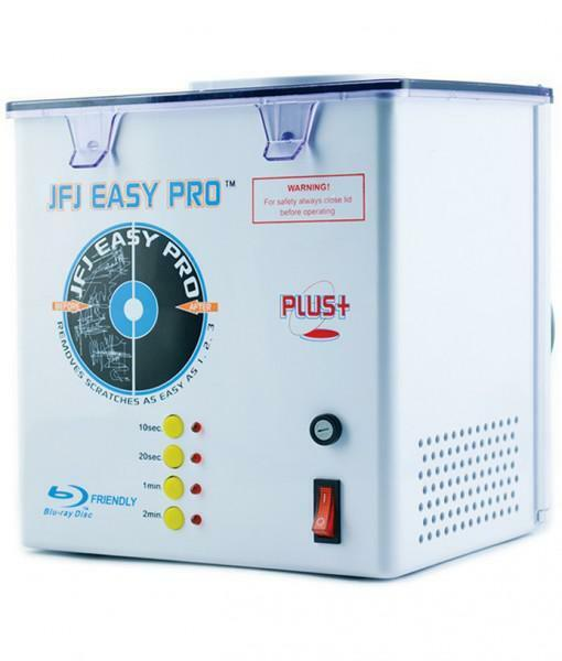 JFJ Easy Pro Universal Video Game DVD CD Clean Scratch Removing Repair Machine
