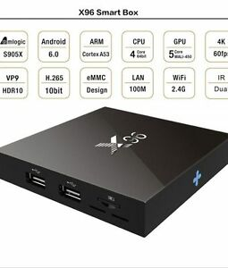 x96 android tv box 2g/16g