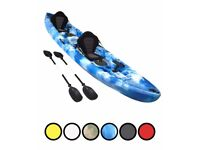 Bluefin Double Kayaks ideal for fishing Sea, Rivers, and Lakes