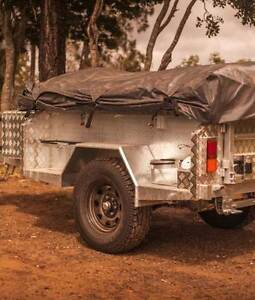 Semi off road galvanised camper trailers, Limited offer Innisfail Cassowary Coast Preview