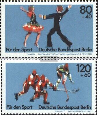 Berlin (West) 698-699 (kompl.Ausg.) FDC 1983 Sporthilfe
