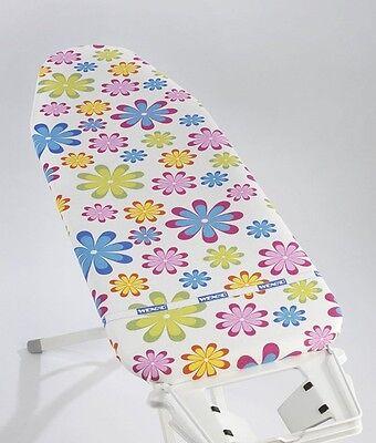 Flower Bügeltischbezug Bügelbrettbezug Bezug 125x45cm für Bügelbrett Bügeltisch