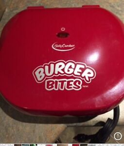 Betty Crocker Burger Bites (sliders)
