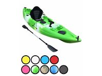 Bluefin Swift Single fishing kayaks Seats and Paddles included only £290.00