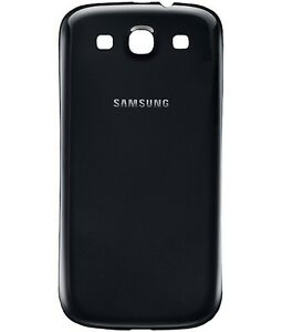NEW Battery Back Door Replacement Cover Samsung Galaxy S3 Black i9300 i747 T999